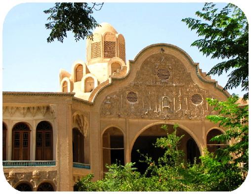 عکس ارسالی کاربران: خانه ی تاریخی بروجردی ها