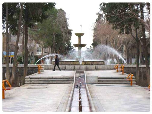 عکس ارسالی کاربران: میدان کمال الملک کاشان