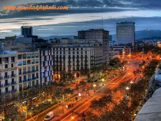 عکس هایی از شهر زیبای بارسلونا