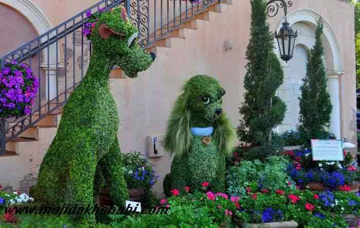 عکس های شگفت انگیز از جشنواره طراحی گل ها و گیاهان