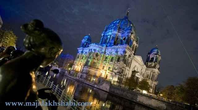 تصاویری از فستیوال نور برلین