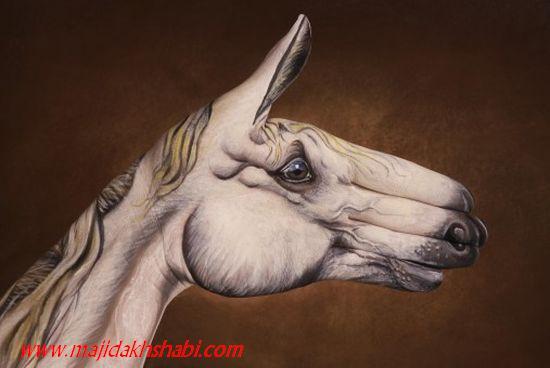 هنر نقاشی روی دست
