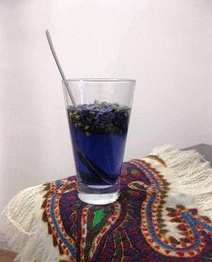 یک نوشیدنی خنک با طعم ختمی