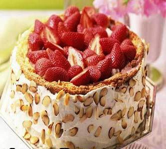 کیک میوه فوری