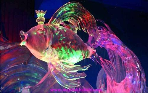 فستیوال مجسمه های یخی در روسیه