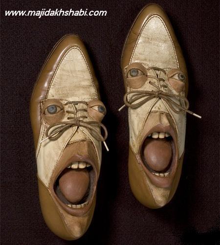 هنر عکاسي:  انسانهای کفش نما