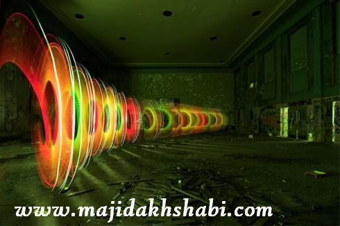 هنر عکاسي: عکسهای شگفت انگیز از ترکیب نور و لیزر