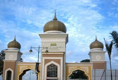مسجد کريستالی مالزی