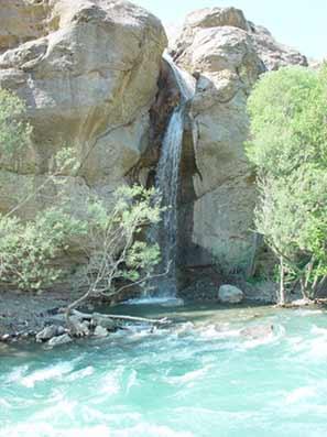 گردشگری: چشمه اب گرم لاریجان