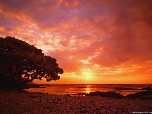 هنر عکاسی: غروب خورشید