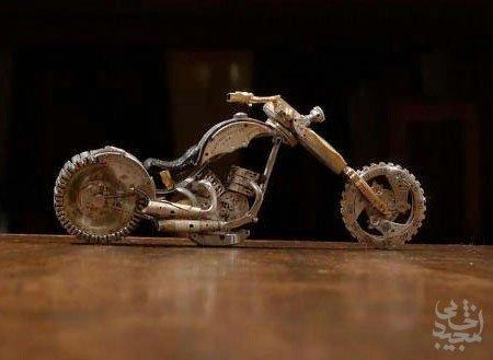 هنر عکاسی: موتورسیکلت های کوچک و مینیاتوری جالب