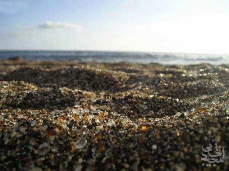 هنر عکاسی: تصاویر شگفت انگیز از ساحل شیشه ای