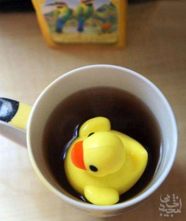 مطالب داغ: چای خوردن خلاقانه